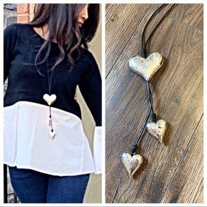 Jewelry - ✨RESTOCKED✨PARIS✨ Drop heart necklace